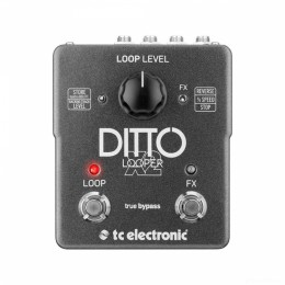TC electronic Ditto X2 Looper Гитарная педаль лупер
