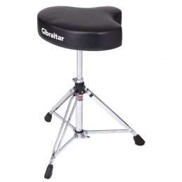 Gibraltar 6608 Drum Throne Motocycle Style Vinyl Seat стул для барабанщика